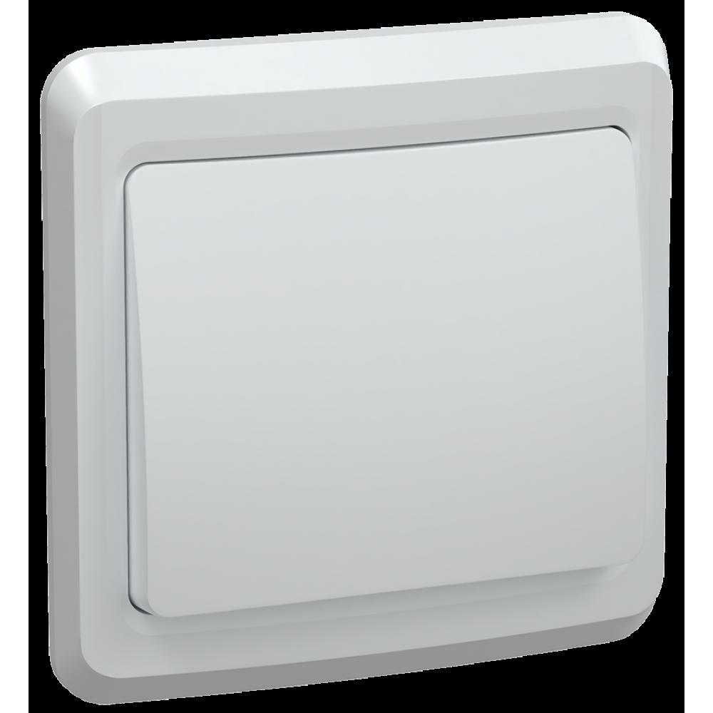 Выключатель IEK Вега 1кл. белый (50/200)