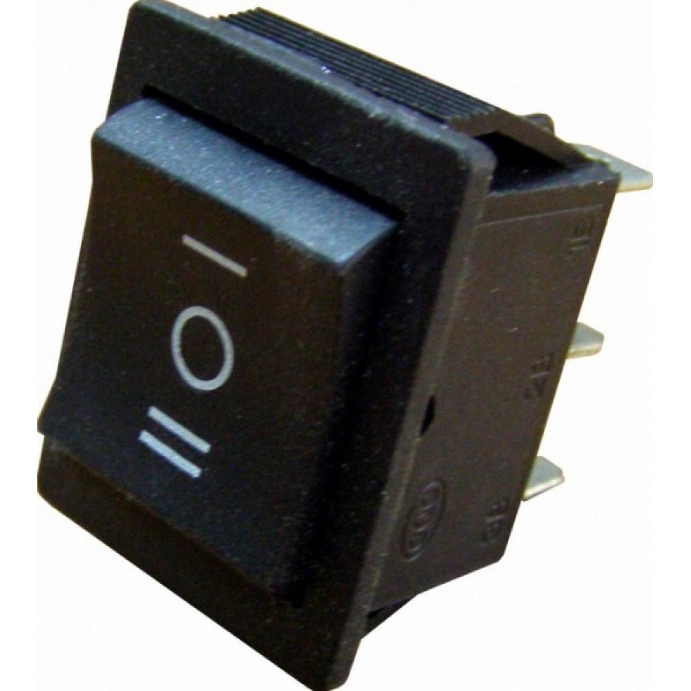 Выключатель TDM YL-206 2з+2з вкл-выкл-вкл чёрный (5)