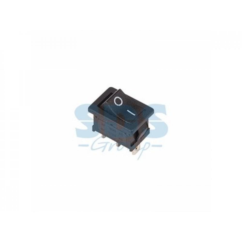 Выключатель Rexant вкл-вкл 6А мини черный (10)