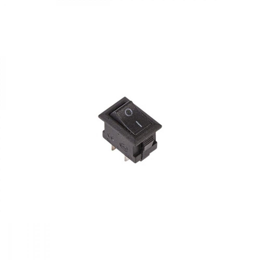 Выключатель Rexant вкл-выкл 3А микро черный (10)