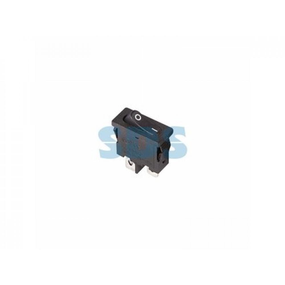 Выключатель Rexant вкл-выкл 6А мини черный (10)