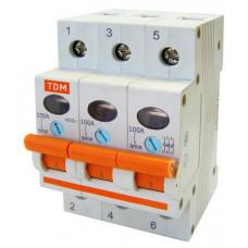 Выключатель нагрузки 3Р 100А TDM ВН-32 (4)