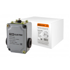 Выключатель путевой TDM ВПК-2110Б 10А 660В IP67 (50)