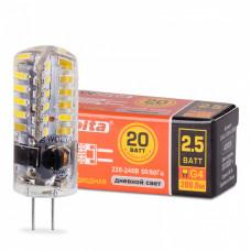 Лампа диодная G4 220В 2.5Вт 3000К 200Лм Wolta (10)
