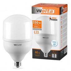 Лампа диодная HP 40Вт Е27/40 6500К 3500Лм d118x214мм Wolta (20)