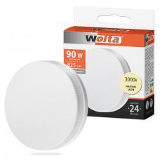 Лампа диодная GX53 7Вт 3000К 600Лм Wolta (50)