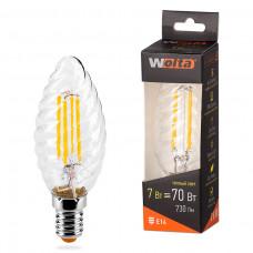 Лампа LED WOLTA FILAMENT св вт CT35 7Вт 730лм E27 3000K 1/10/50