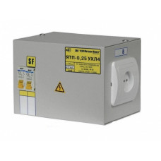 Ящик с понижающим трансформатором IEK-0,25 220/12-2авт. (1)