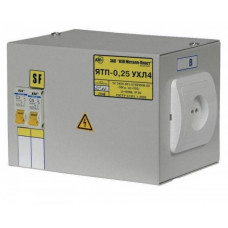 Ящик с понижающим трансформатором IEK-0,25 220/36-2авт. (1)