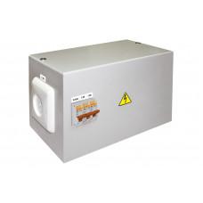 Ящик с понижающим трансформатором TDM-0,25 220/12-2авт. IP54 (1)
