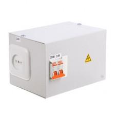 Ящик с понижающим трансформатором TDM-0,25 220/24-2авт.(1)