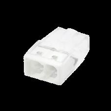Зажим безвинтовой 2x2.5мм2 Compact InHome 25шт (100)