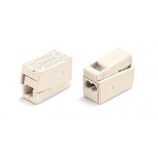 Зажим безвинтовой 1x(1.0-2.5мм2) Wago (100)