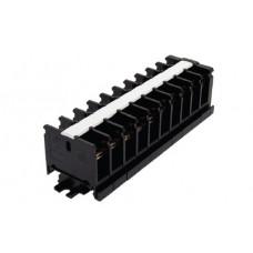 Блок зажимов 63А 10пар до 10мм2 DIN БЗН TDM (10)